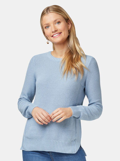 Danielle Honeycomb Pullover