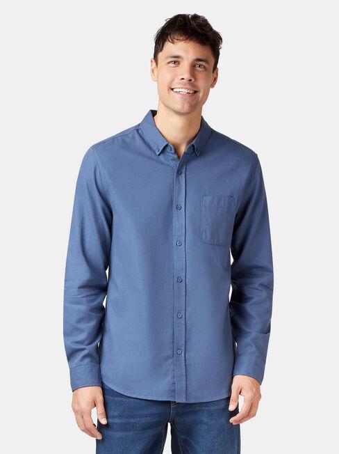 Arbor Long Sleeve Shirt, Blue, hi-res