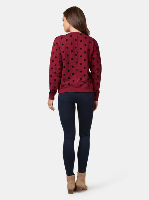 Maeve Sweater, Red, hi-res