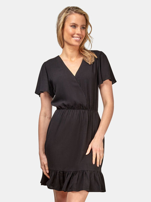 Claire Ruffle Dress