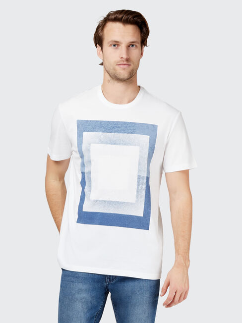 Nole Short Sleeve Print Crew Tee