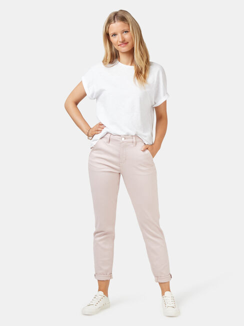 Lois Slim Boyfriend Jeans, No Wash, hi-res