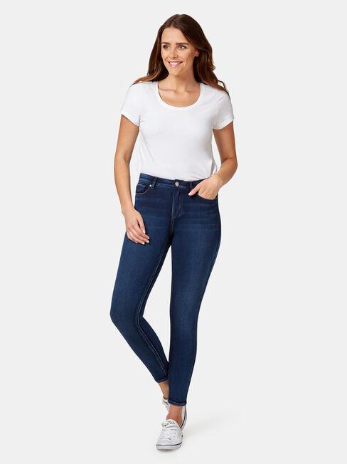 Freeform 360 Skinny 7/8 Jeans Imperial Blue, Mid Indigo, hi-res