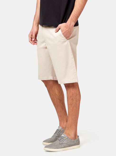 Duke Chino Short, Brown, hi-res