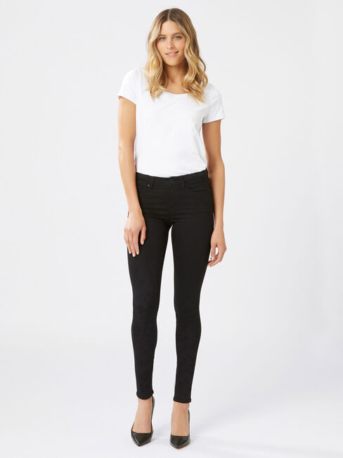 Skinny Jeans Absolute Black