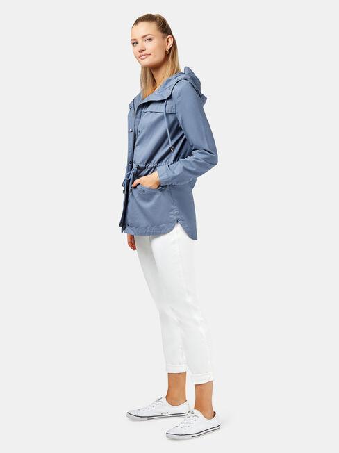 Adele Casual Jacket +, Blue, hi-res