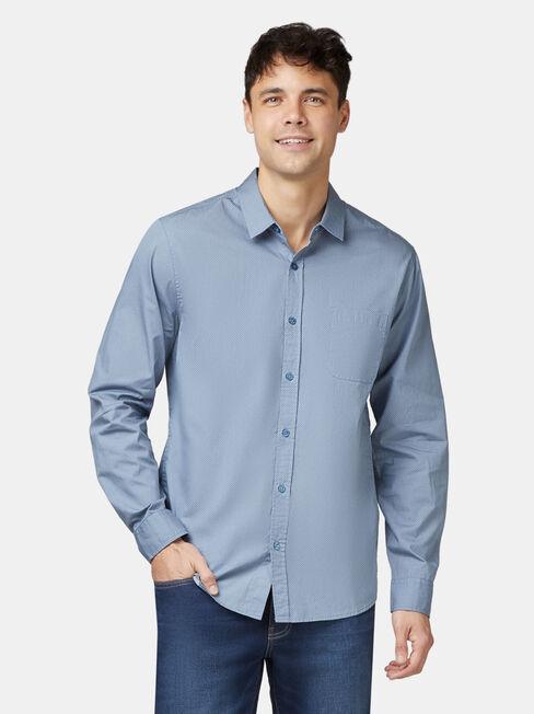 Aiden Long Sleeve Print Shirt