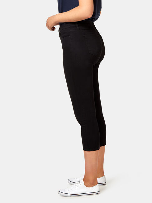 Kia Curve Embracer Skinny Capri, Black, hi-res