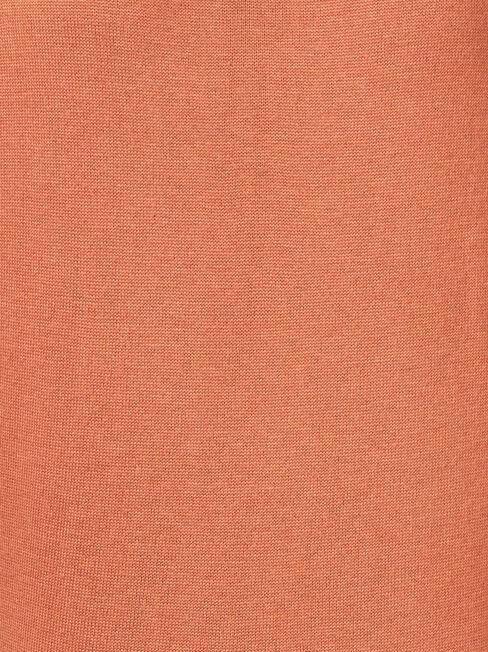 Kara Essential Funnel Neck Pullover, Brown, hi-res
