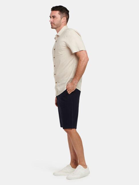 Ethan Short Sleeve Textured Shirt