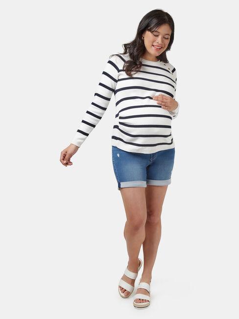 Alex Maternity Jumper, Multi, hi-res