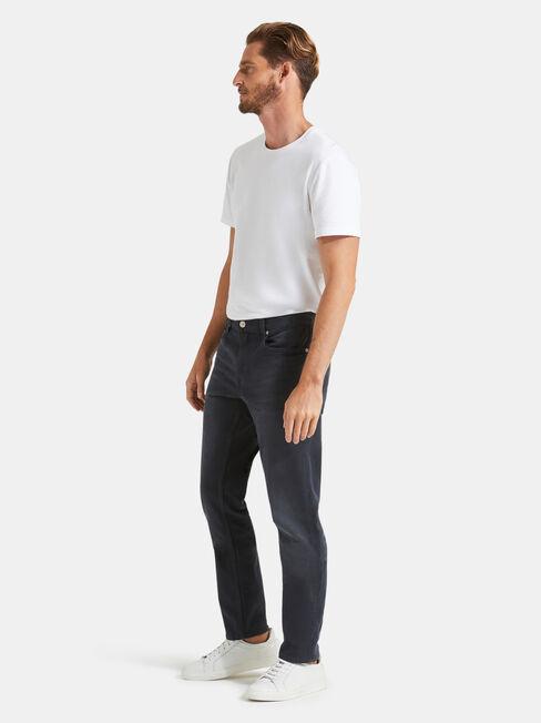 Slim Tapered Jeans Blackened Blue