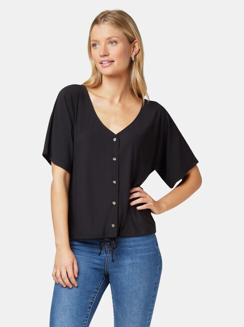 Marie Floral Jersey Top
