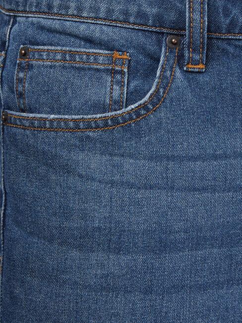 Wilson Denim Short Vintage Indigo, Blue, hi-res