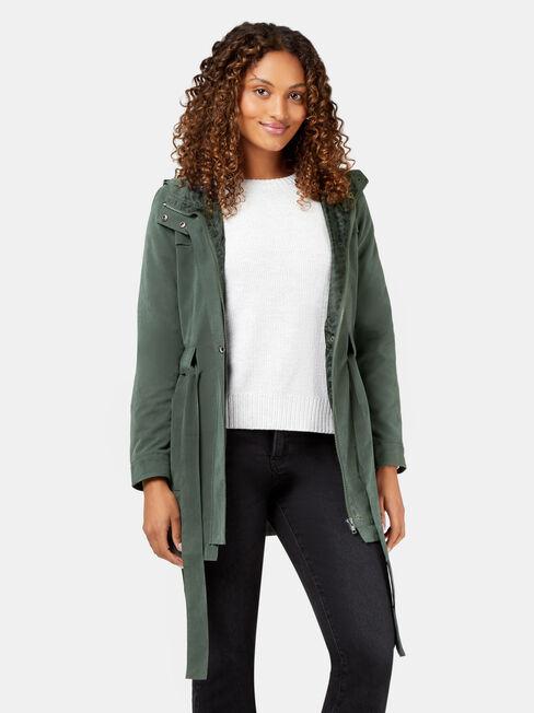 Jade Water Resistant Jacket