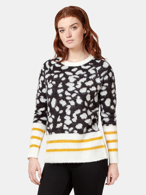 Erin Patterned Knit