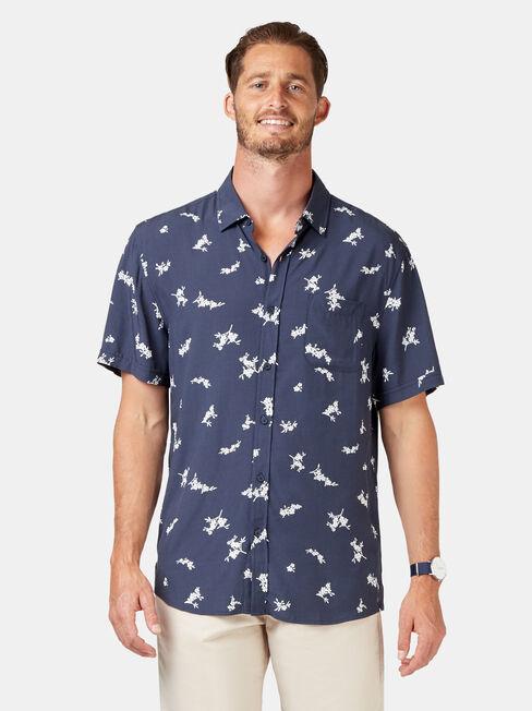 Apollo Short Sleeve Print Shirt