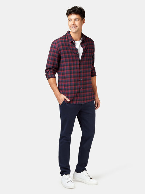 LS Harvey Check Shirt, Multi, hi-res
