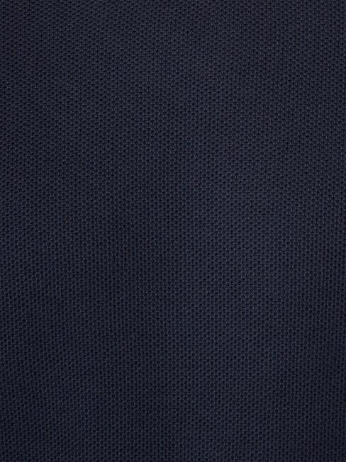 Zayn Waffle Crew Knit, Blue, hi-res
