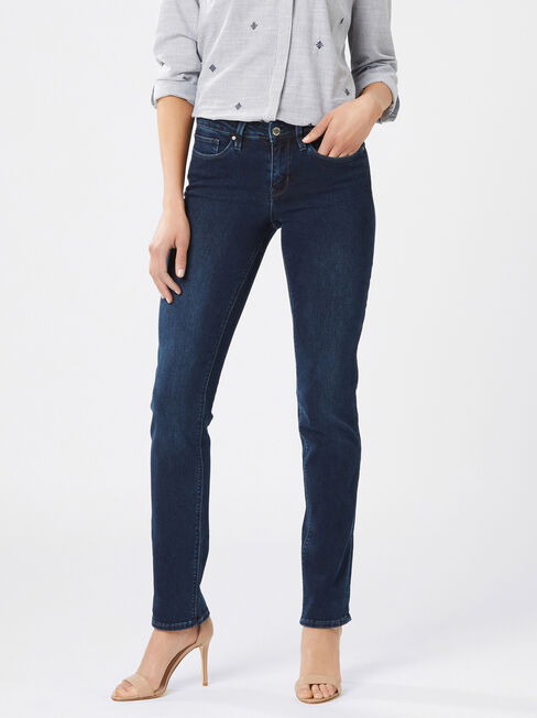 Slim Straight jeans Deep Sea Blue
