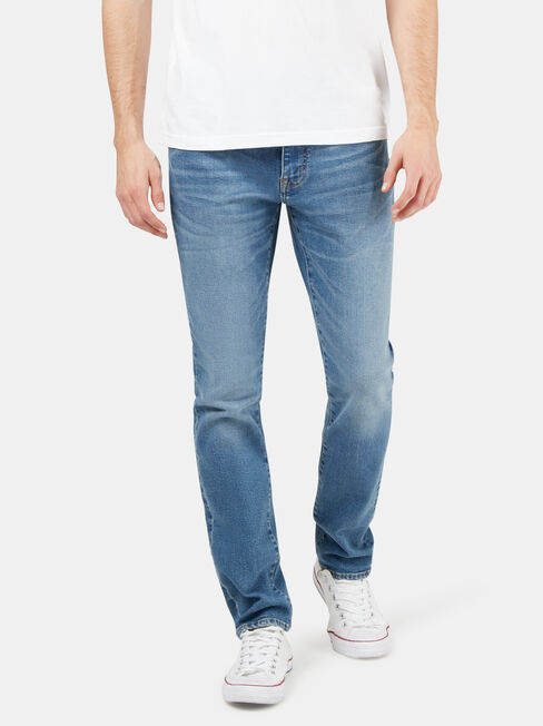 Eco Denim Flex 360 Slim Tapered Jeans