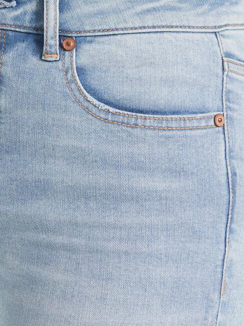Lacey Mid Waist skinny Crop Jeans, No Wash, hi-res