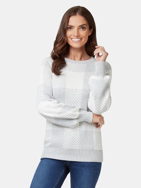 Maci Check Pullover