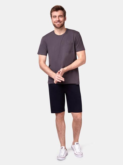 Preston Short Sleeve Basic Pocket Tee, Grey, hi-res