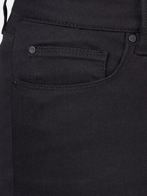 Kara Curve Embracer Skinny Capri Jeans Black, Black, hi-res