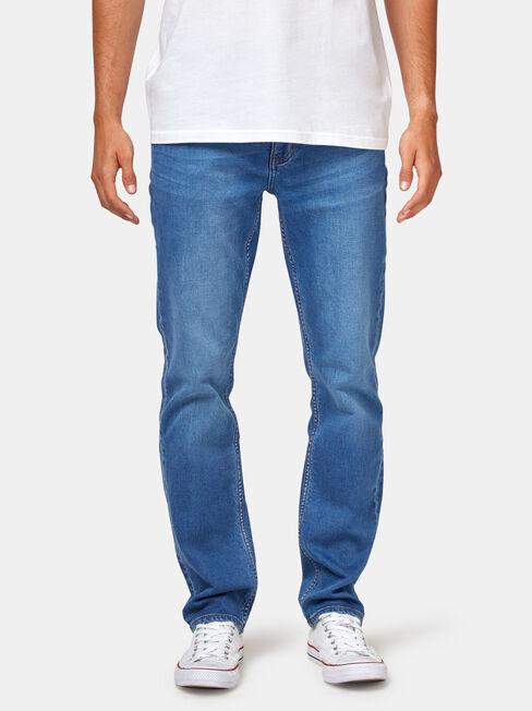 Slim Straight Jeans Light Wash