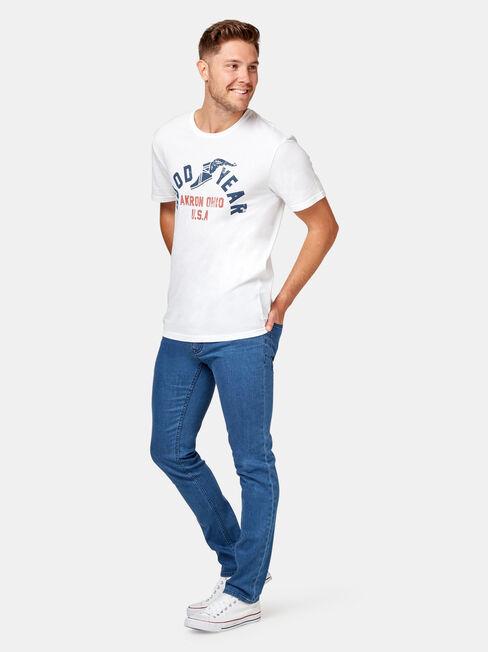 Skinny Jeans Mission Blue, Mid Indigo, hi-res