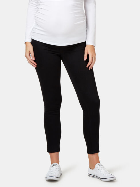 Feather Touch Maternity Skinny 7/8