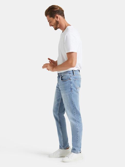 Slim Tapered Jeans Modern Blue