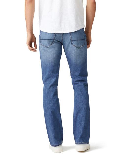 Slim Straight jeans Mineral Blue, Mid Indigo, hi-res