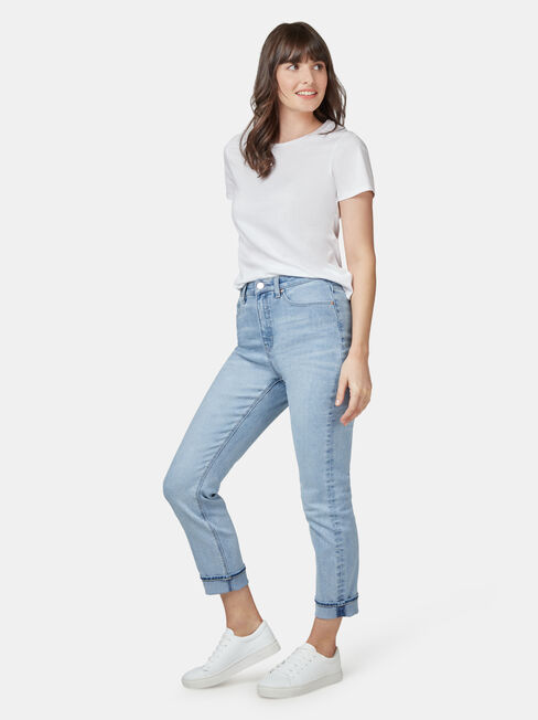 BROOKE HIGH WAISTED TAPERED CROP