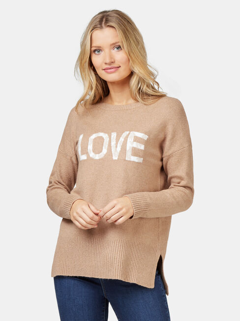 Imogen Love Leopard Pullover