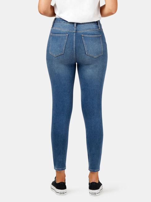 Freeform 360 Contour CE H/W Skinny 7/8 Jeans, Mid Indigo, hi-res