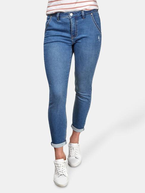 Lois Slim Boyfriend Jeans