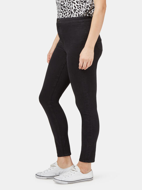 Casey Slimming Skinny Ankle, Black, hi-res