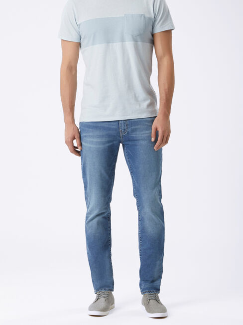 Raleigh Slim Tapered Knit jeans