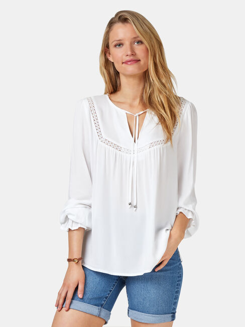 Kinsly Peasant Blouse