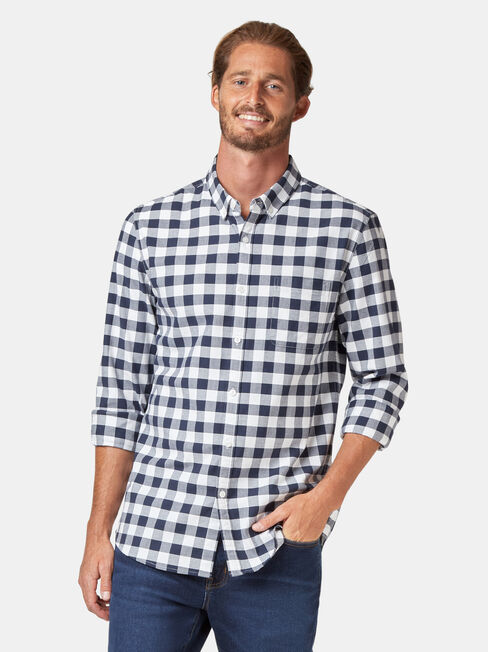 LS Holt Oxford Check Shirt