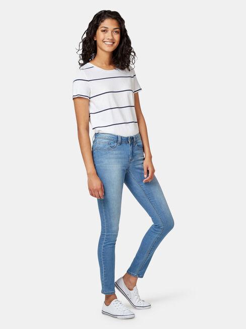 Skinny Jeans Soft Blue, MidWash, hi-res