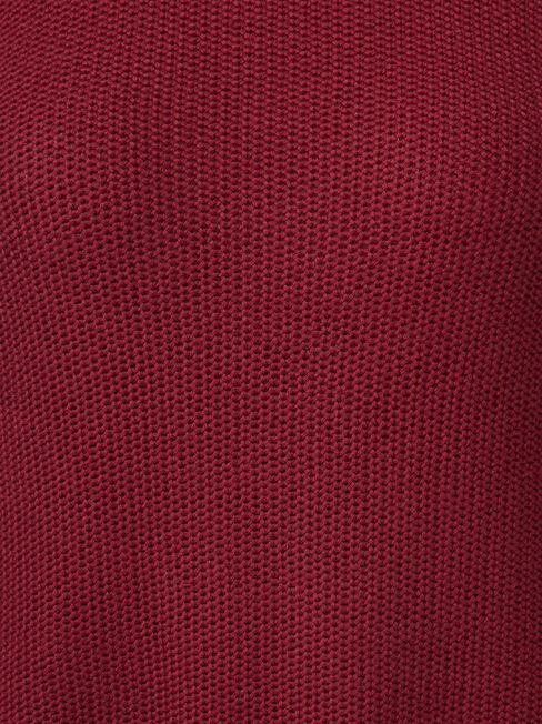 Danielle Honeycomb Pullover, Pink, hi-res