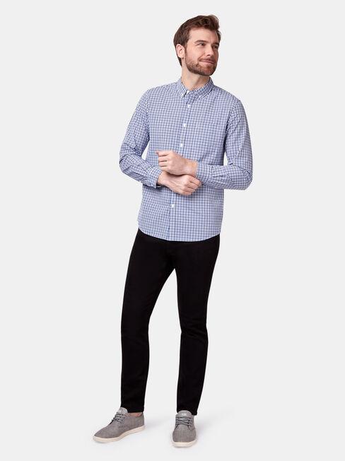 Easton Long Sleeve Check Shirt, Print, hi-res