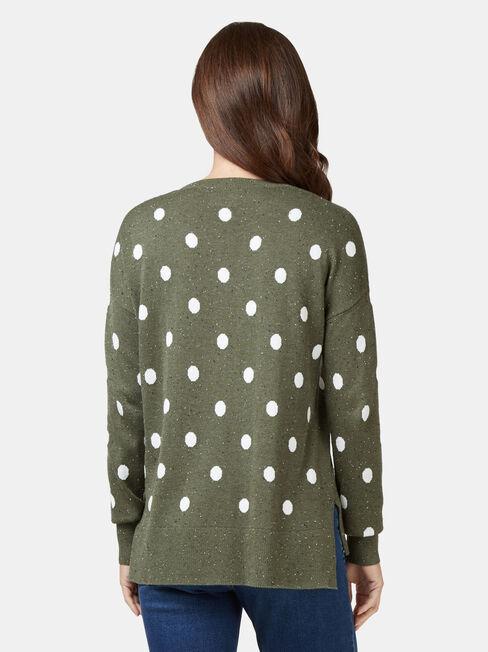 Nia Nep Spot Pullover, Multi, hi-res