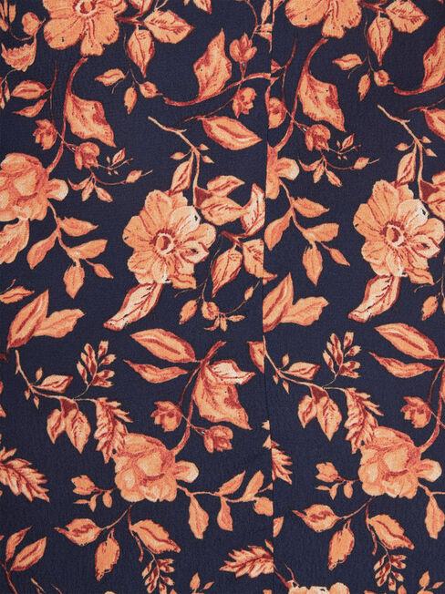 Imogen Split Midi Skirt, Floral, hi-res