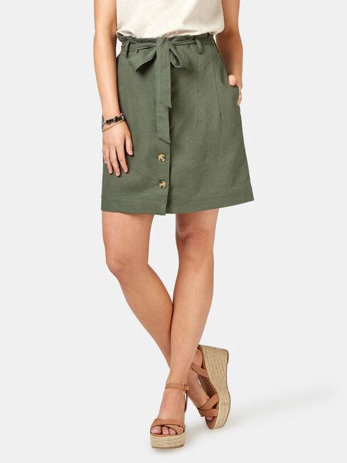 Clara Tie Waist Skirt