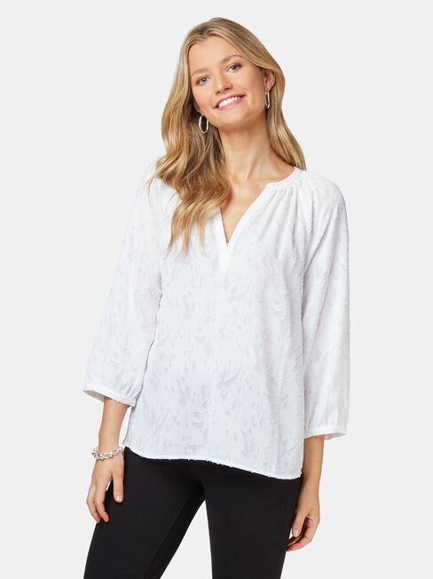 Ember Burn Out Blouse