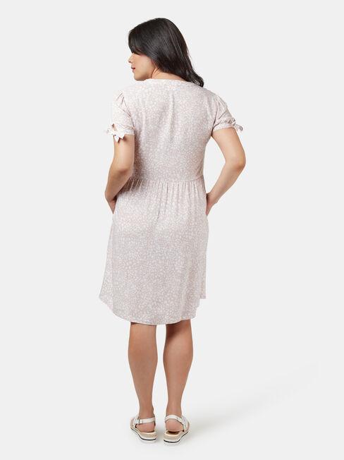 Pia Printed Maternity Dress, Multi, hi-res